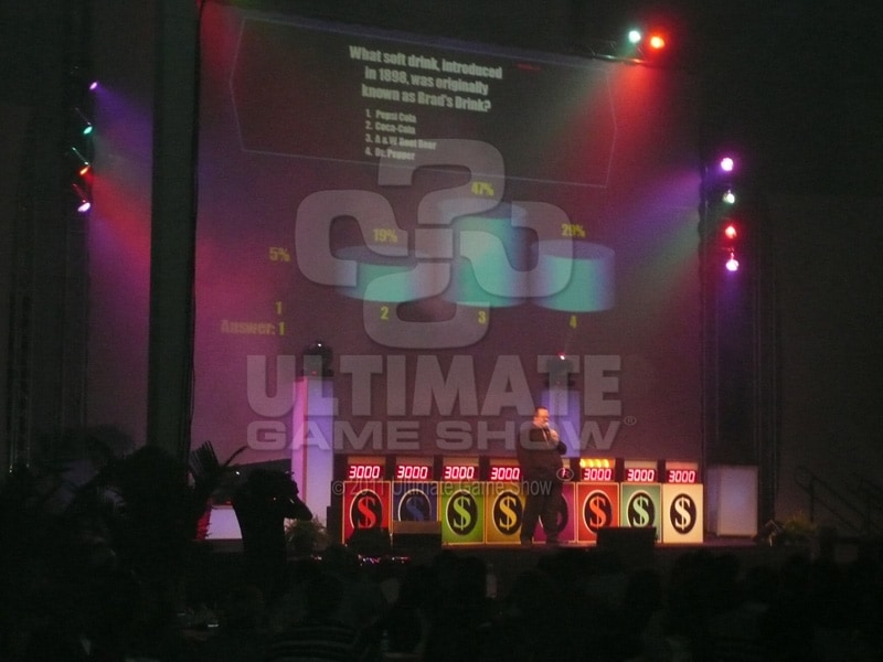 Ultimate Game Show presents a custom game show at a company-wide safety meeting.