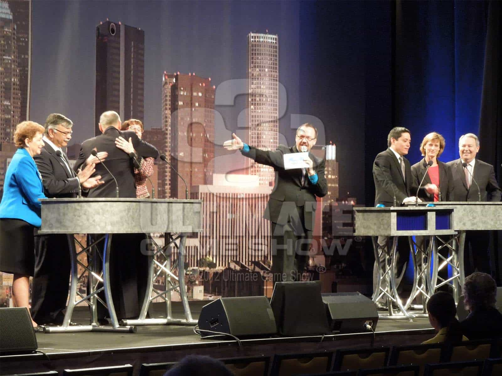 Ultimate Game Show presents a custom game show at an industry conference.