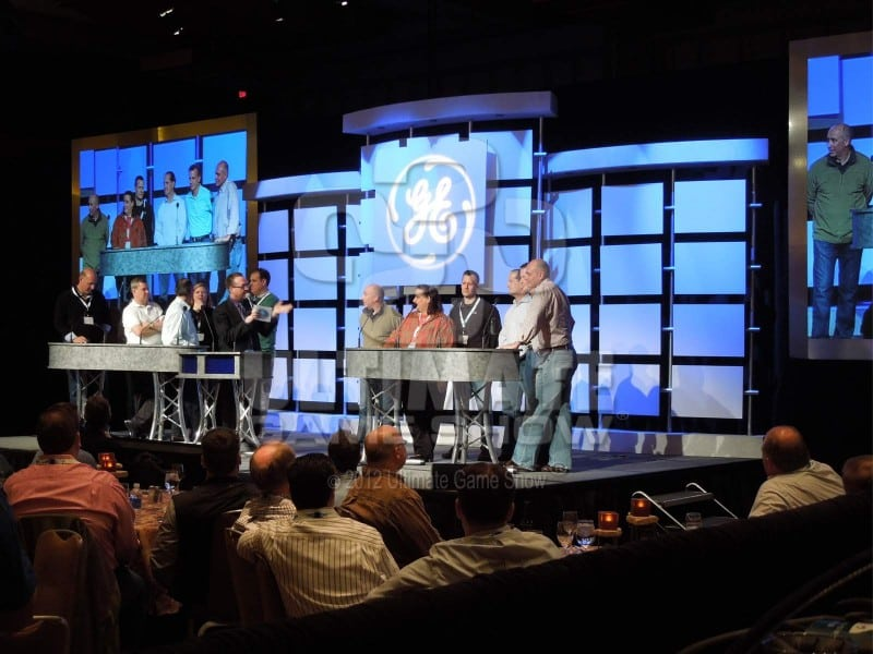 Ultimate Game Show presents a custom game show at an executive retreat.