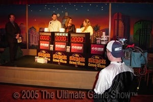 Ultimate Game Show working on a local TV show