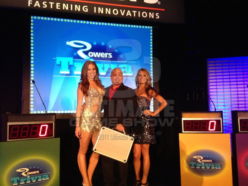 Ultimate Game Show presents a custom game show at a national sales conference.