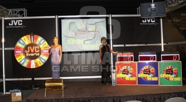 Ultimate Game Show in a client's trade show booth